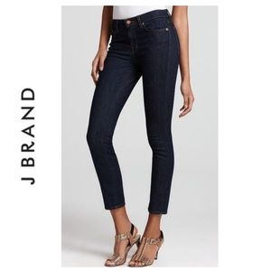 J Brand Maria Pure Cropped Jeans